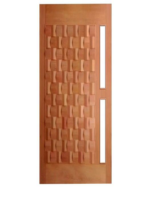 Porta de Entrada Maciça Pivotante Egito para Vidro