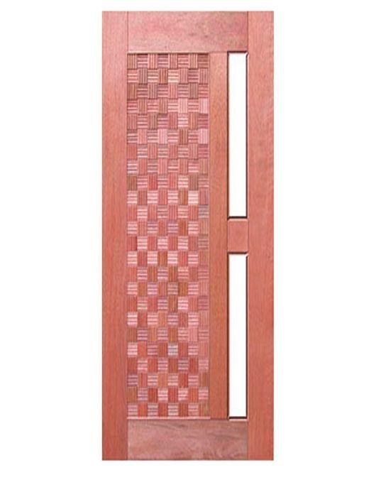 Porta de Entrada Maciça Pivotante Imperial para Vidro