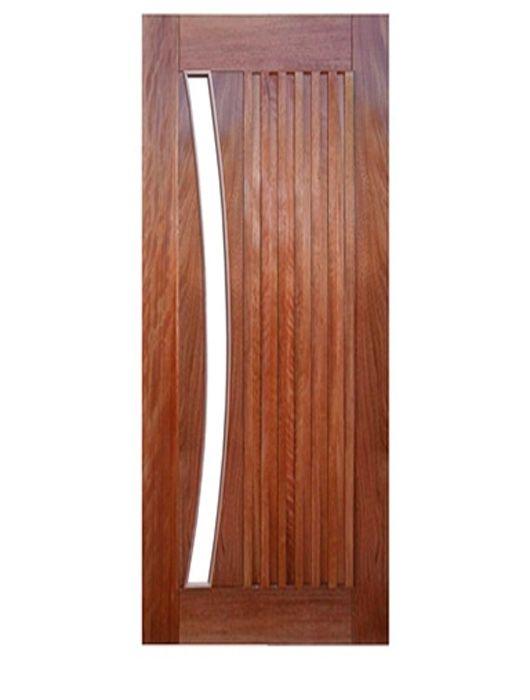 Porta de Entrada Maciça Pivotante Malaga para Vidro Arco