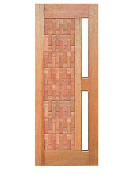Porta de Entrada Pivotante Maciça Filadélfia para Vidro