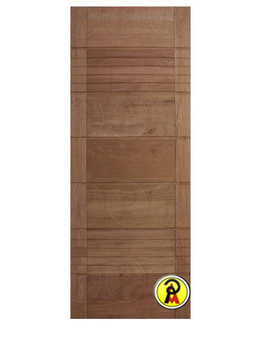 Porta Pivotante Maciça BBB-R 8 Frisos