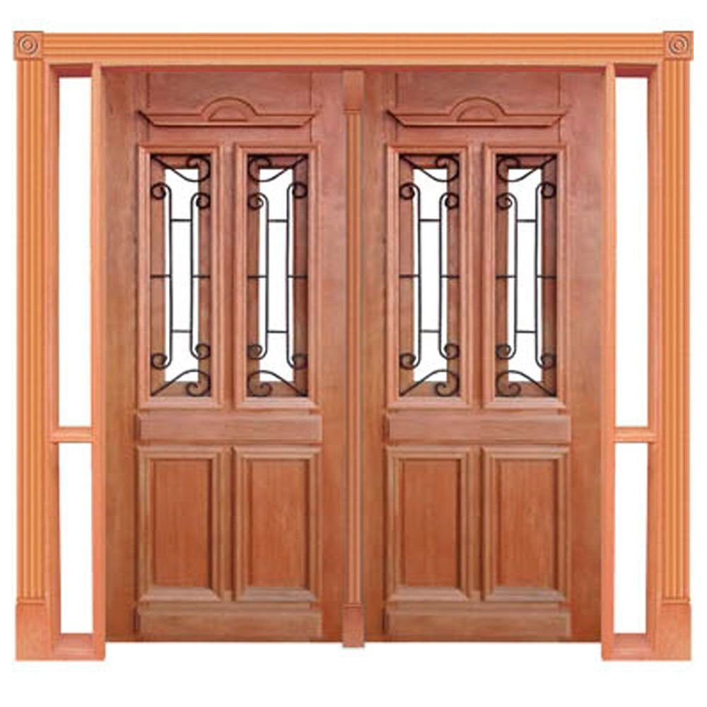 Portal de Entrada Duplo de Abrir 2 Folhas Duquesa 15 com Grade Casmavi