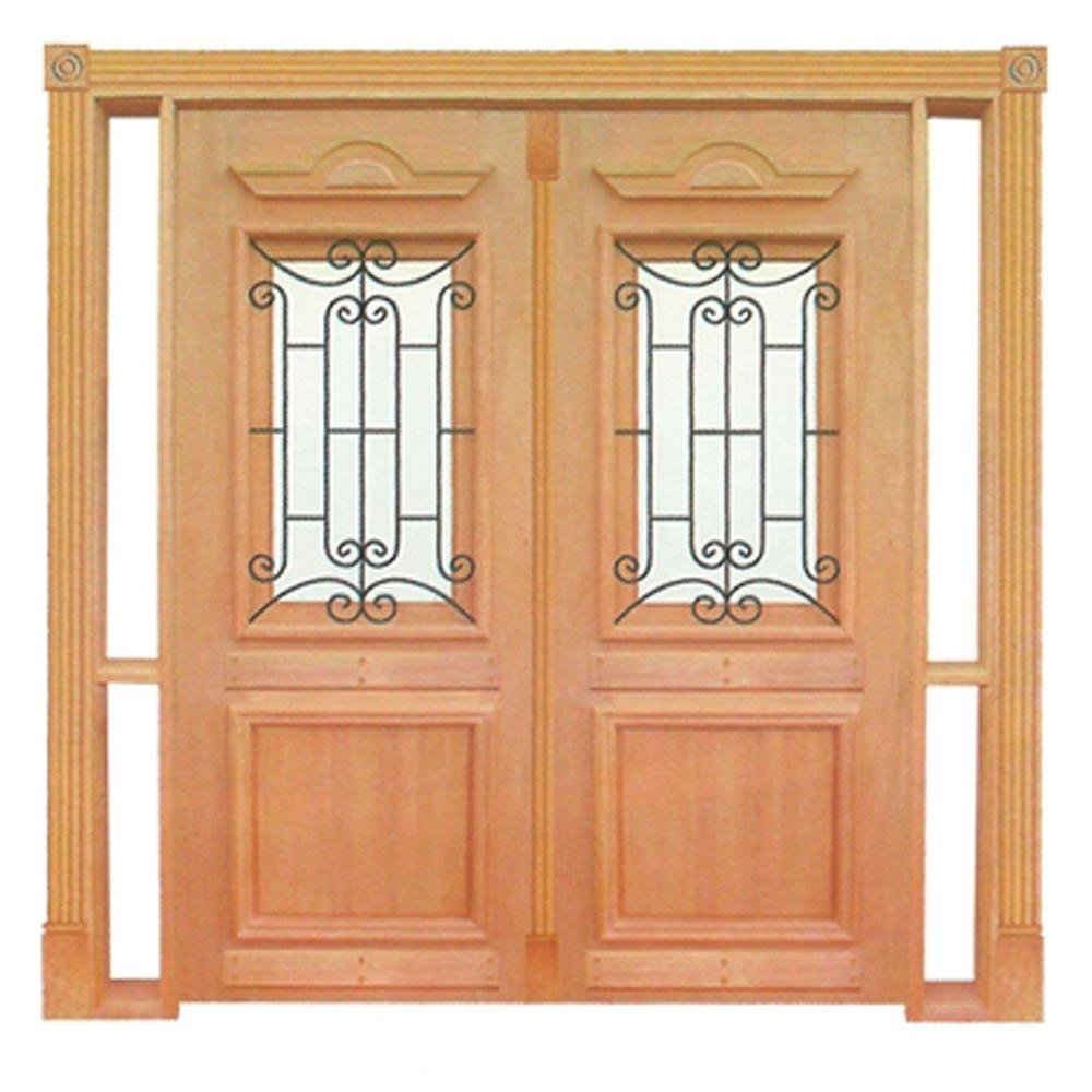 Portal Entrada Maciça 010 Realeza com Grade