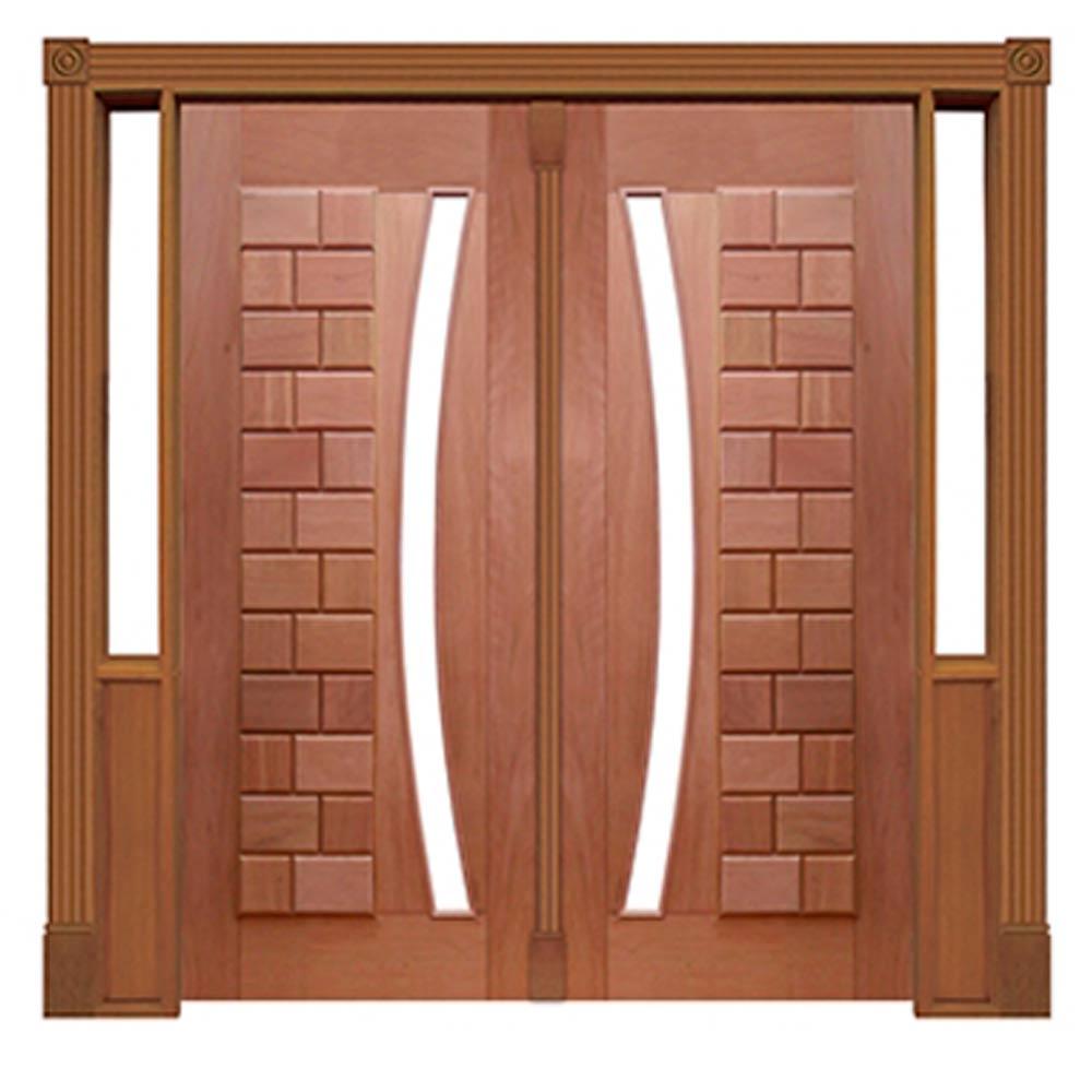 Portal Entrada Maciça Pivotante 095