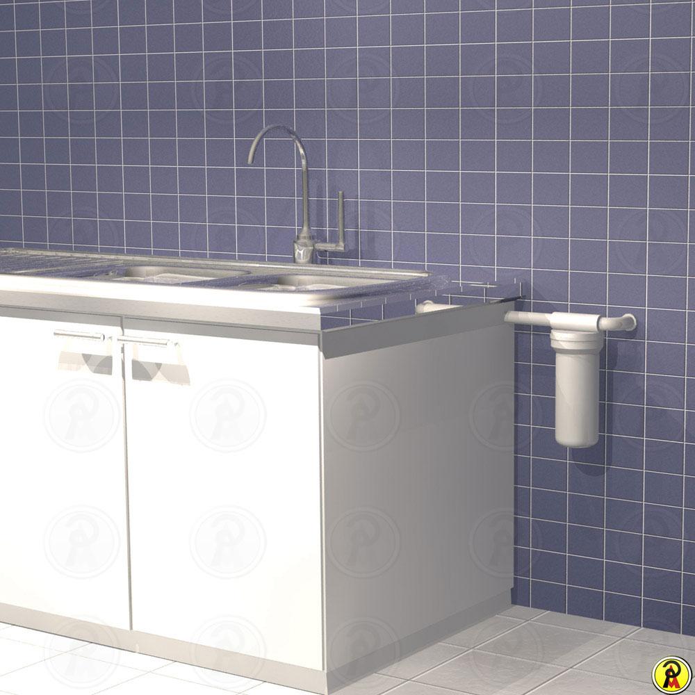 Purificador de Água para Ponto de Uso Loren Acqua 9 3-4 ECA