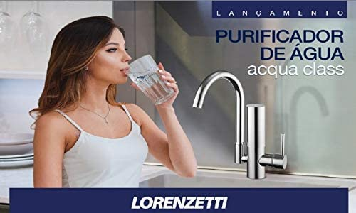 Purificador Torneira Acqua Class de Parede Lorenzetti 1144 C24