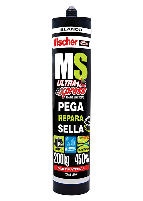 Selante Multimaterial Branco MS Fischer