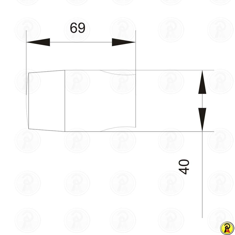 Suporte para ducha Jiwi WJ-0603
