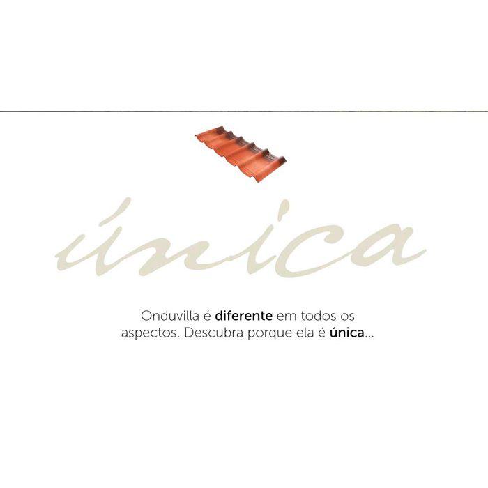 Telha Ecológica Onduline Onduvilla 1,06X0,40m Fiorentino 3D