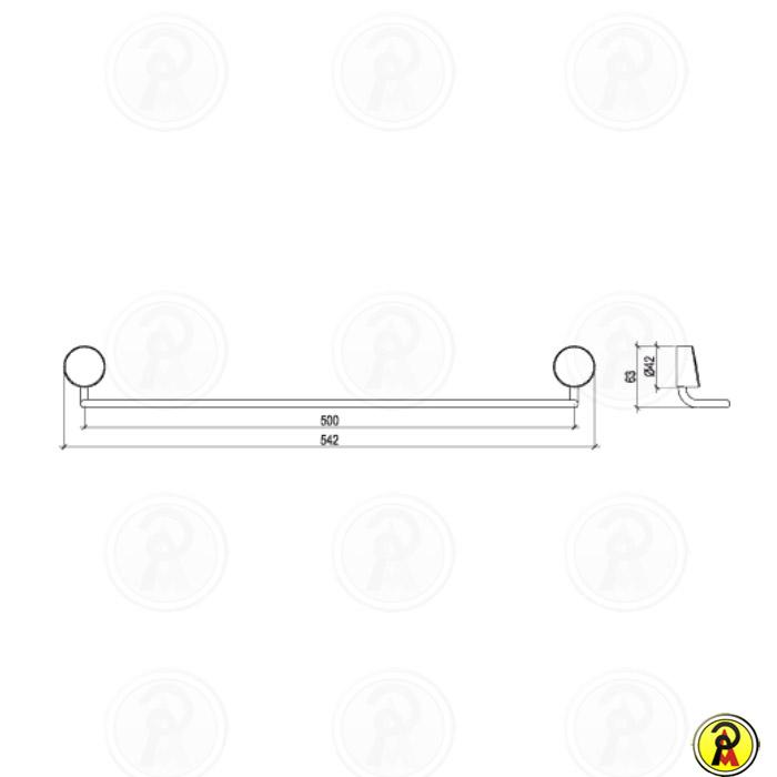 Toalheiro Barra Grande Lorenzetti Lorenflex 2040 C27  - Pinezi Compra Rápida