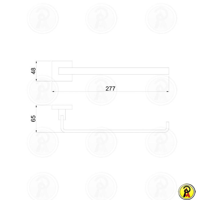 Toalheiro Rosto em Metal Lorenzetti LorenVogue 2045 C98  - Pinezi Compra Rápida