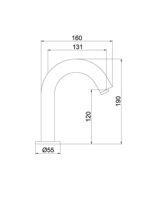 Torneira Acionamento Automático Sensor Eletrônico LorenSense 1185 C80