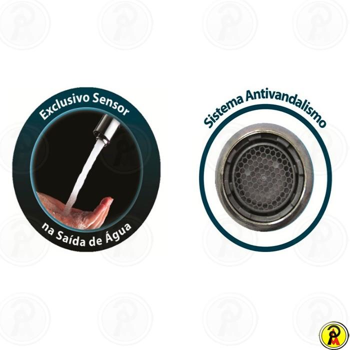 Torneira Acionamento Automático com Sensor Eletrônico LorenSense 1187 C80