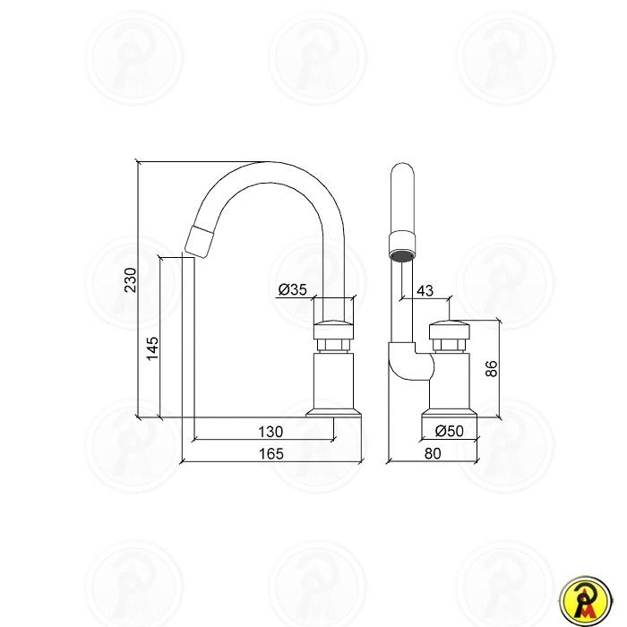Torneira Automática Lavatório Mesa Lorenzetti Smart System 1177 C79