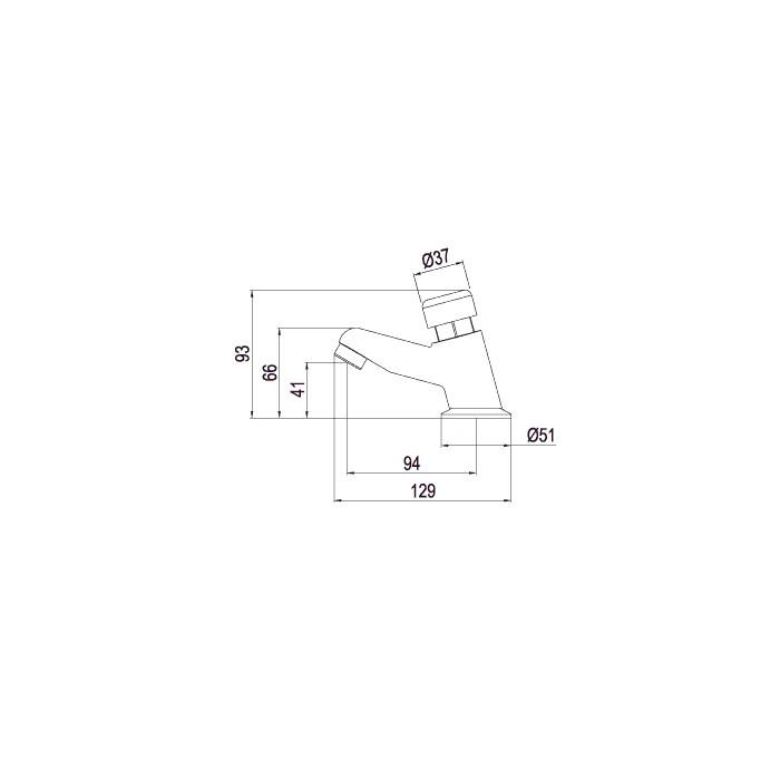 Torneira para Lavatório de Mesa Lorenzetti Smart System 1172 C79