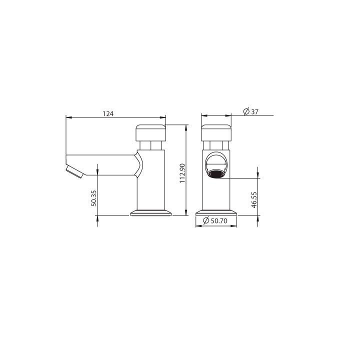 Torneira para Lavatório de Mesa Lorenzetti Smart System 1174 C79  - Pinezi Compra Rápida