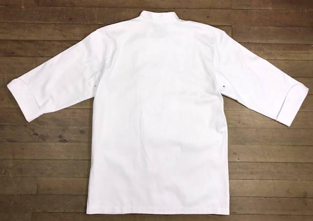 Dólmã Clássico Unissex Branco Botões BRANCOS Clássico 100% Algodão