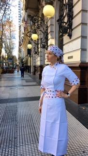 Dólmã Cecília Feminino Cupcake Acinturado Tricoline 100% Algodão