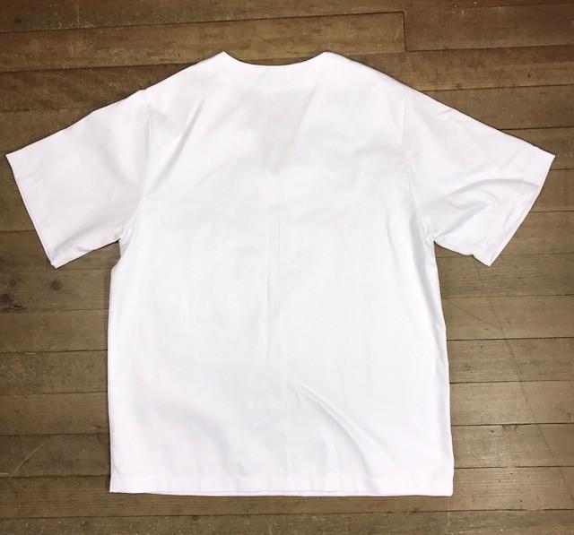 Conjunto Pijama Cirurgico SCRUB BRANCO UNISEX  Camisa e Calça com Cordão Tecido 100% algodão