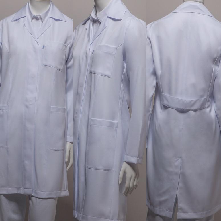 Jaleco Gola Esporte SLIM Acinturado Microfibra 100% Poliéster