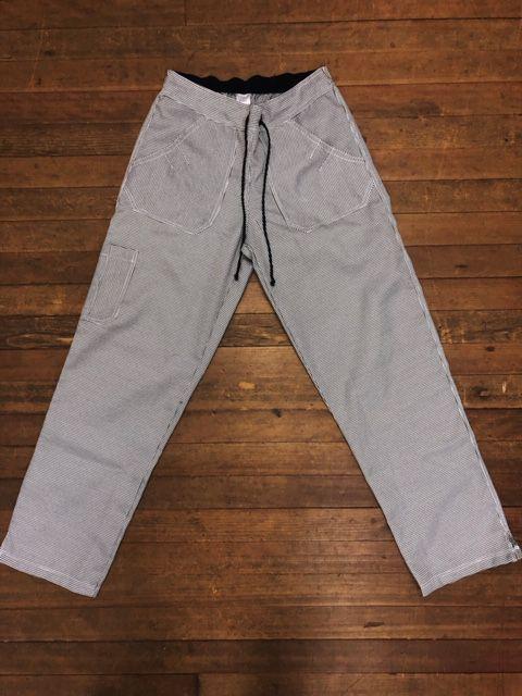 Calça Anatomys UNISEX PIED POULE PRETA E CINZA com dois bolsos na frente e dois atrás e cordão PRETO Tecido 95% Algodão 5% POLIÉSTER