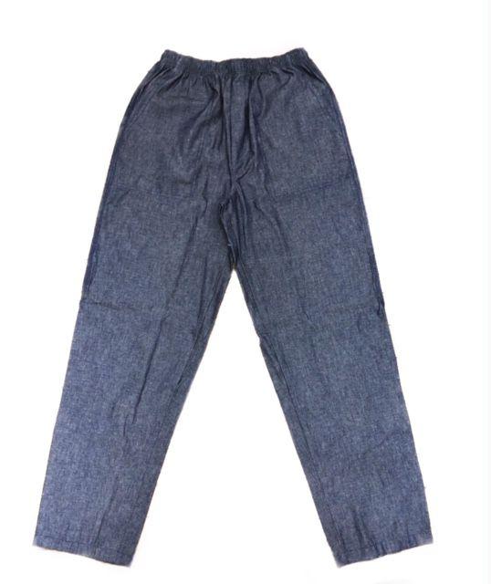 Calça Confort UNISEX  JEANS com dois bolsos faca na frente e cordão Tecido 100% Algodão
