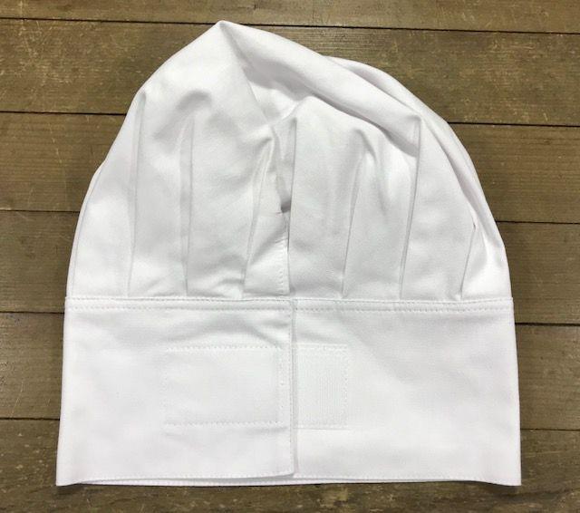 Conjunto: 01Dólmã Clássica Unisex personalizada padrão AVANTIS + 01 Chapéu gourmet com velcro Avantis + 01 avental bistrô Avantis + 01 calça preta