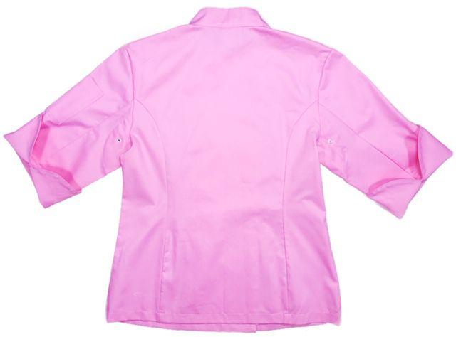 Conjunto Dólmã Cecília Feminino Acinturado ROSA e botões GREY HEART Sarja Leve 100% algodão + Calça Rosa ANATOMYS