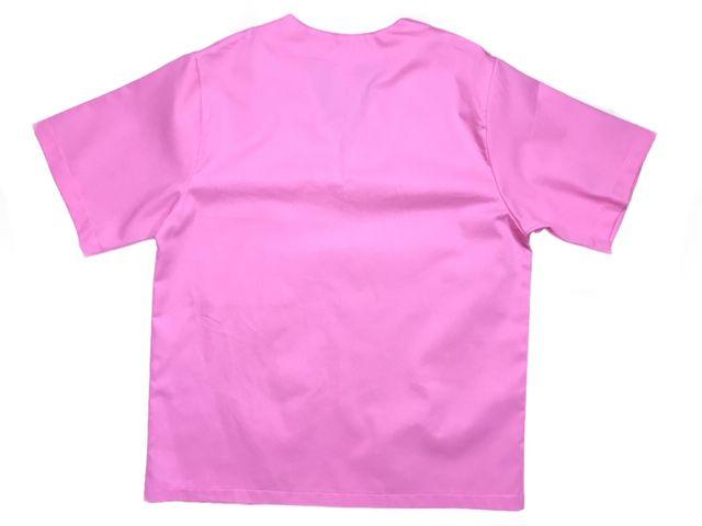 Conjunto Pijama Cirurgico  SCRUB ROSA UNISEX  Camisa e Calça com Cordão Tecido 100% algodão
