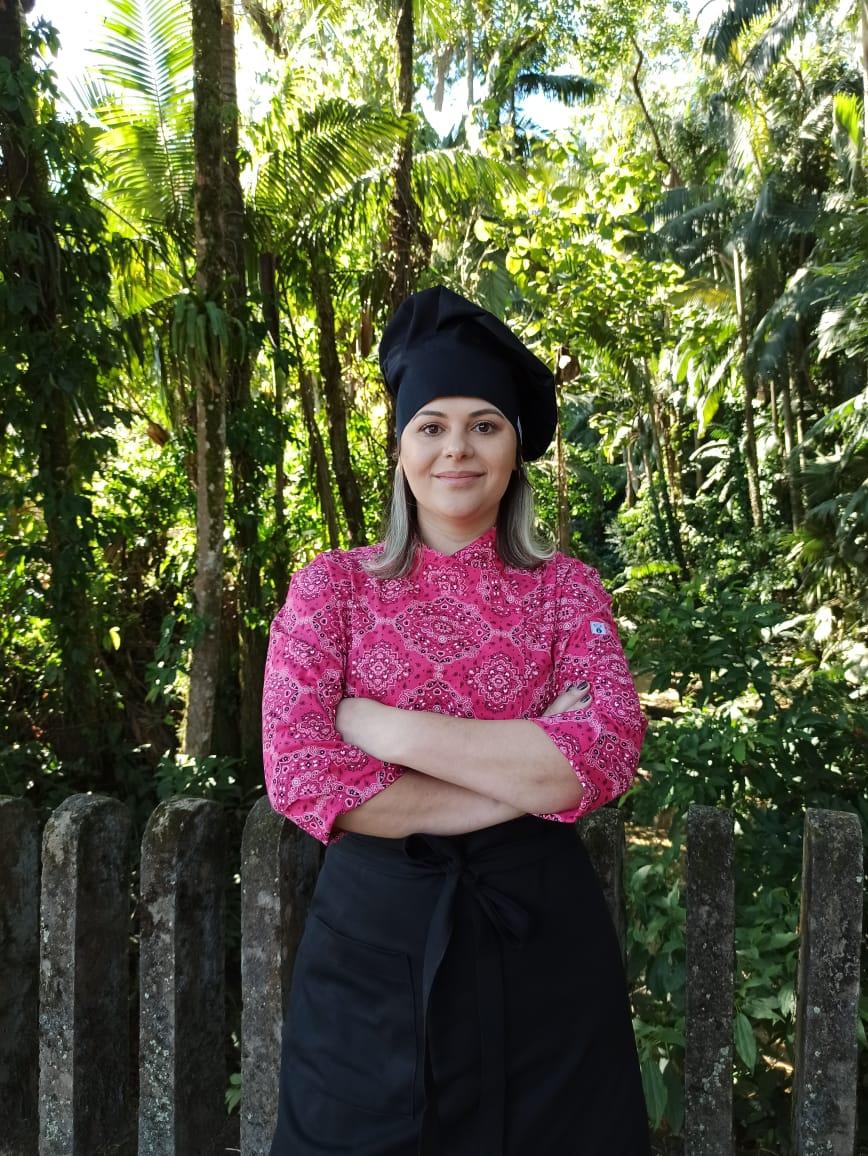 Dólmã Cecília Rosa estampada abotoamento pressão100% Algodão Manga 3/4