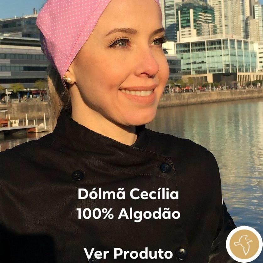 Dólmã Cecília Feminino Acinturado PRETO SKULL HAT  BRANCO e CINZA   com vivo e botões pretos Sarja Leve 100% algodão Manga 3/4
