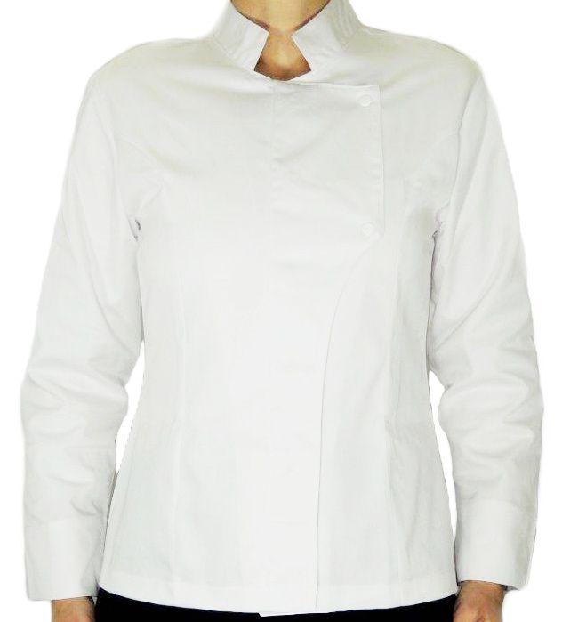 Dólmã Grace Feminina Acinturada CAVEIRA MEXICANA BRANCA - Sarja 100% algodão Branco
