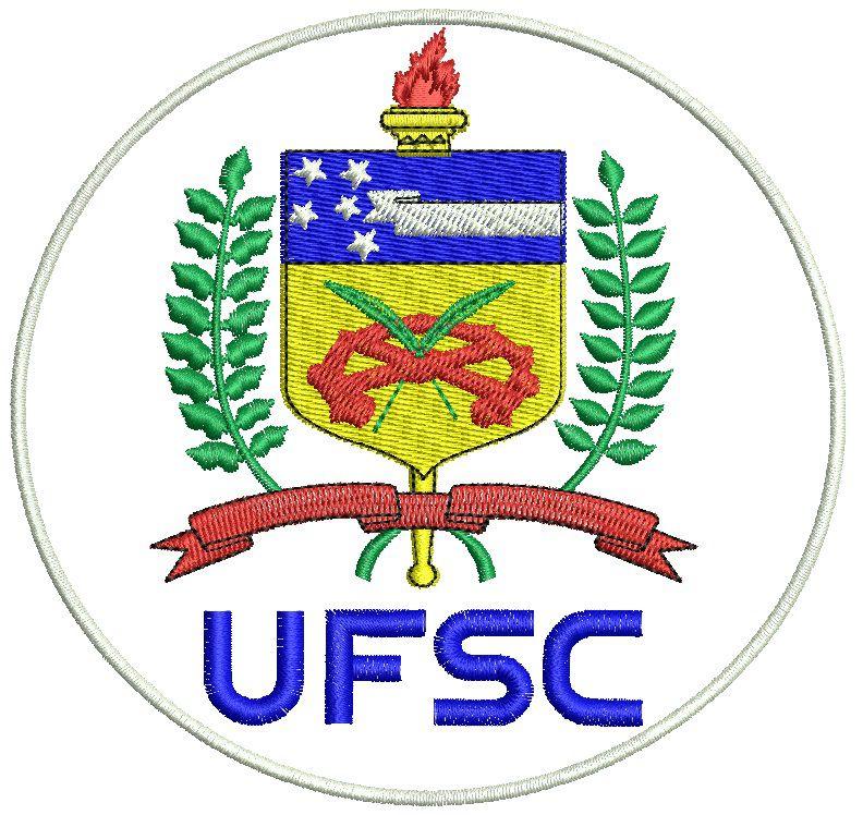 Jaleco Gola Padre BRANCO personalizado padrão UFSC (logomarca na manga , símbolo Odonto na manga e nome na lapela em preto), com punho de ribana