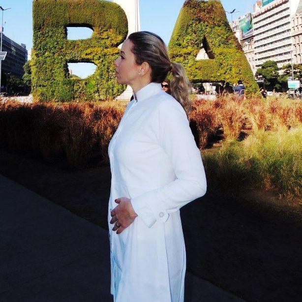 Jaleco Sissi Dress Feminino Acinturado ML MICROFIBRA 100% Poliéster
