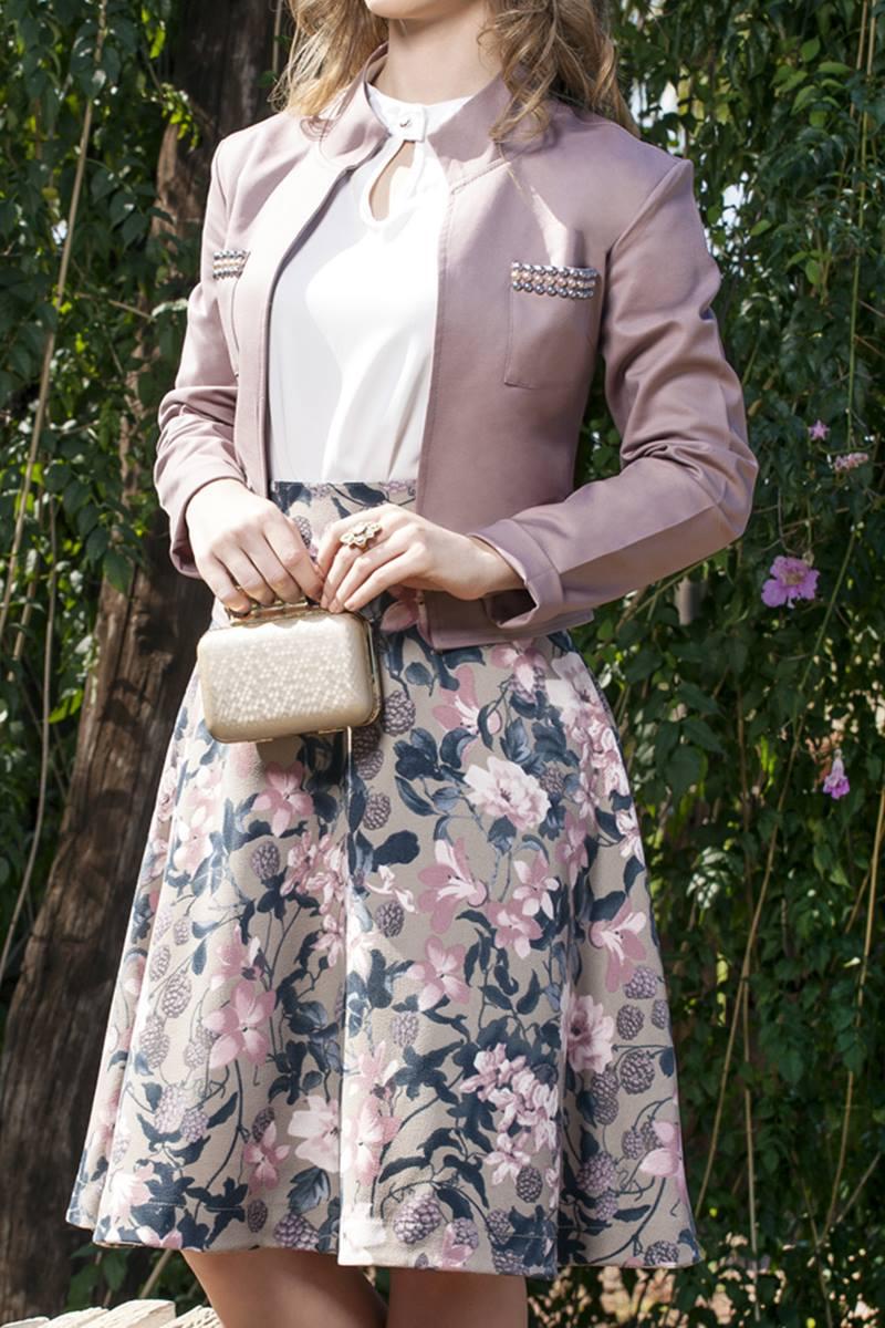 Conjunto Bella Herança Rose 6628