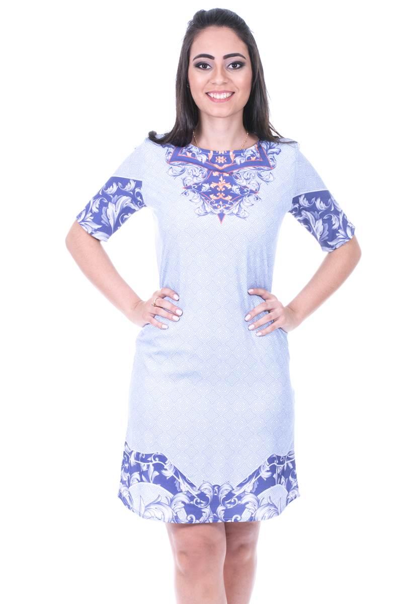 Vestido Modaris Azul 34072