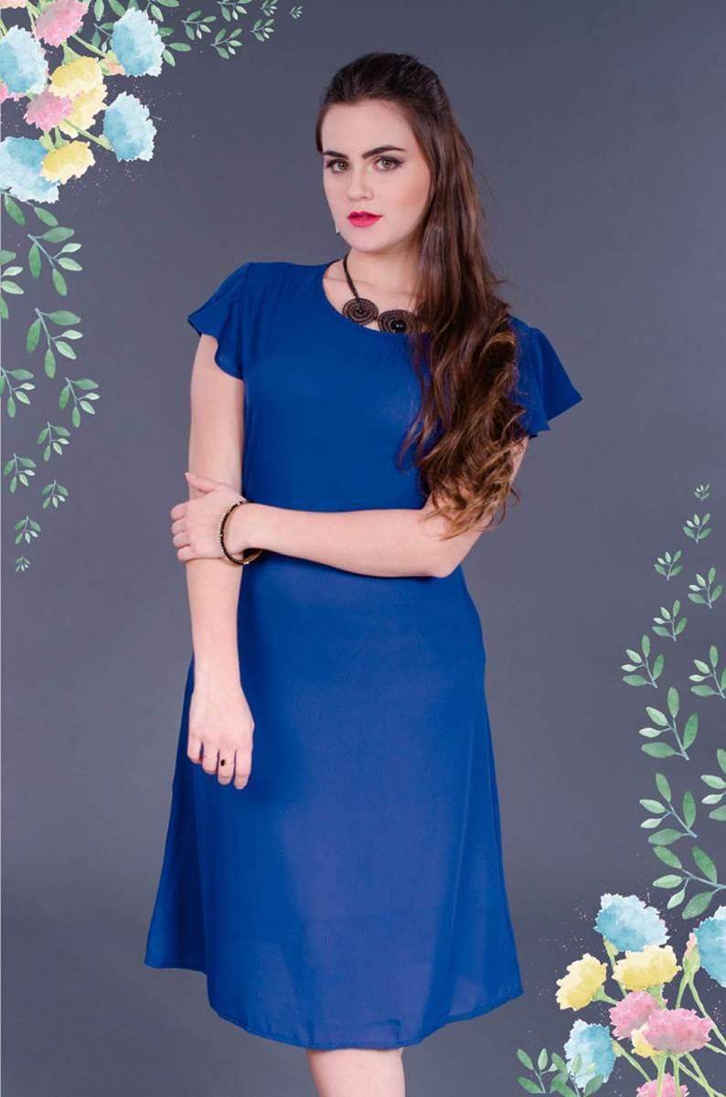 Vestido Modaris Liso 34063