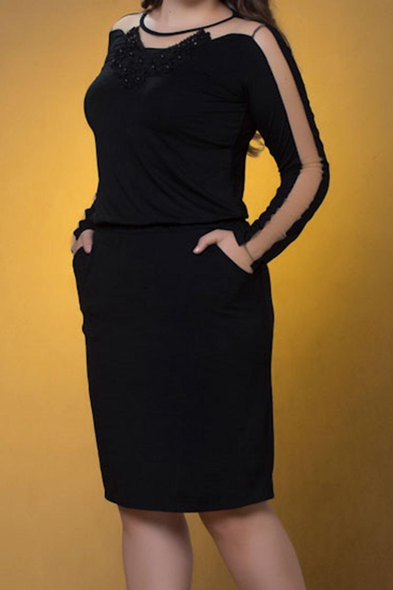Vestido Marian Preto 59083