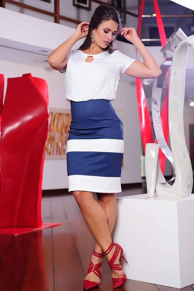 Vestido C�ssia Segeti Neoprene 968