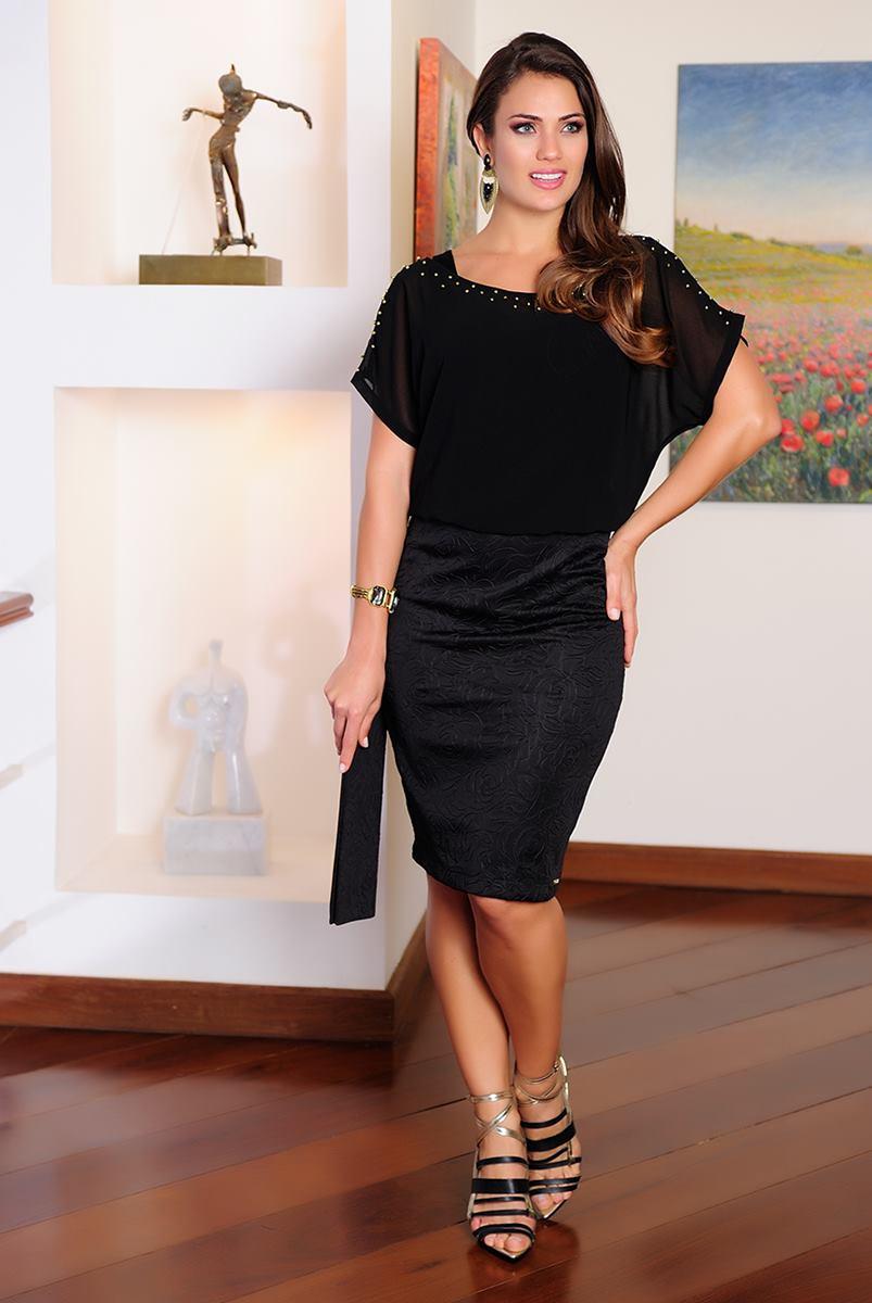 Vestido Cássia Segeti Chifon 1006