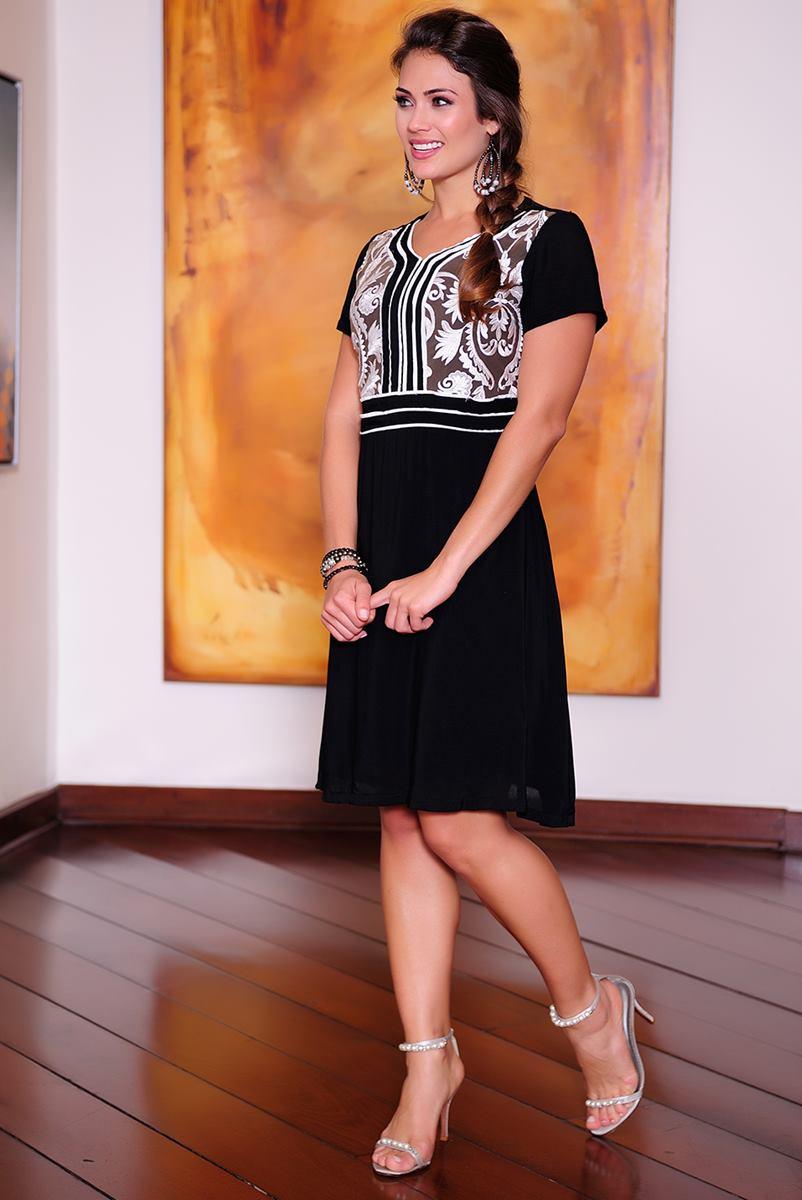 Vestido Cássia Segeti Viscose 1011