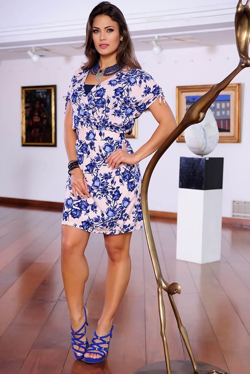 Vestido C�ssia Segeti Transpasado 1014
