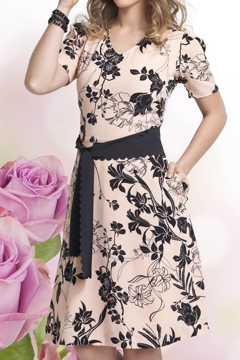 Vestido Bella Herança Preto 6707