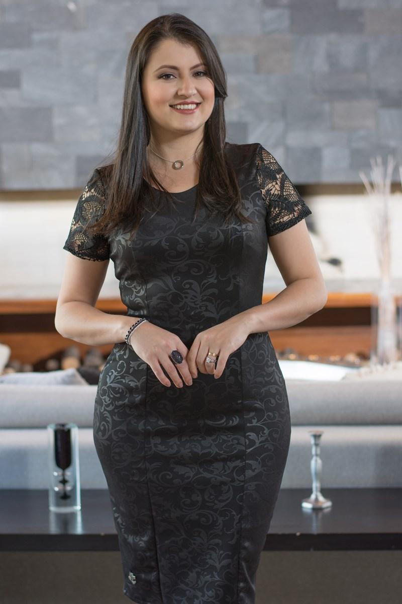 SC113 Vestido Sarah Simmone Carvalho