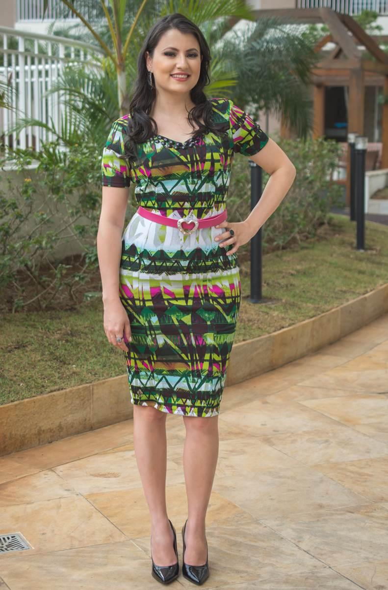 Vestido Adriele Verde BY Simmone Carvalho SC112