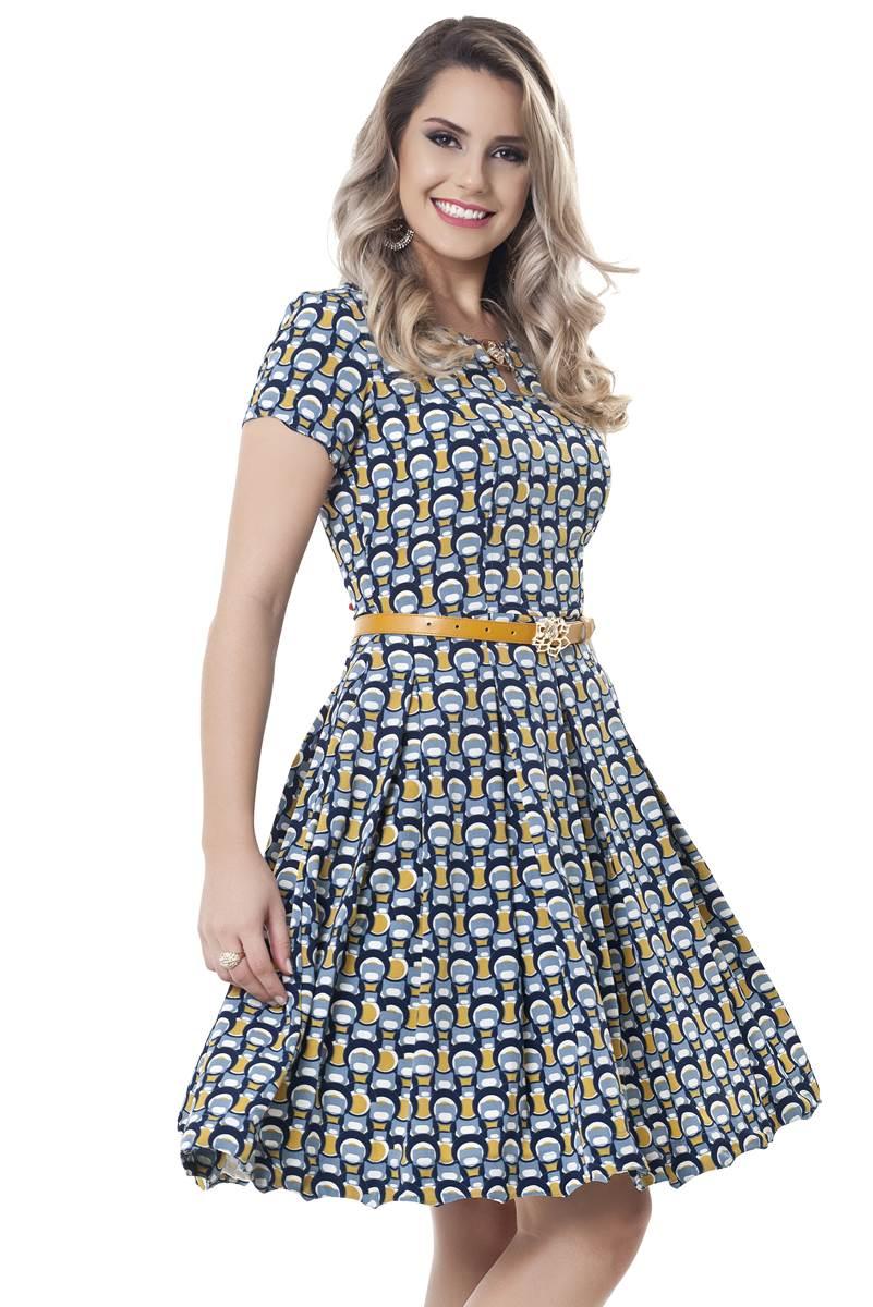 Vestido Bella Herança Jasmine 2214