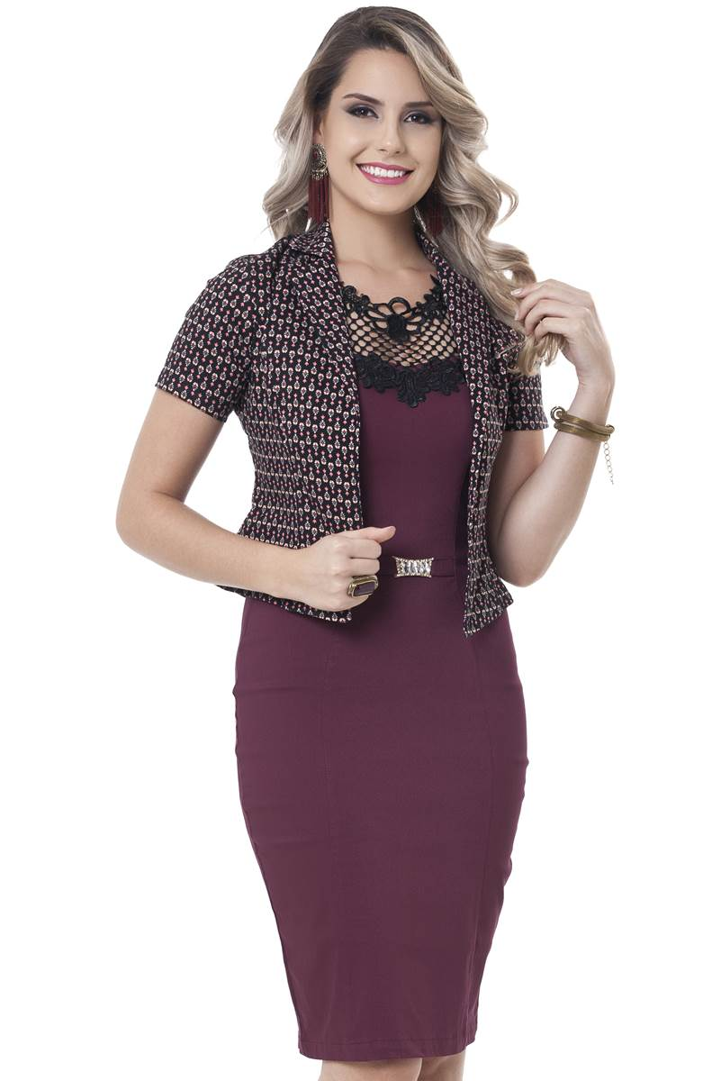 Vestido Bella Herança Mariah 2237