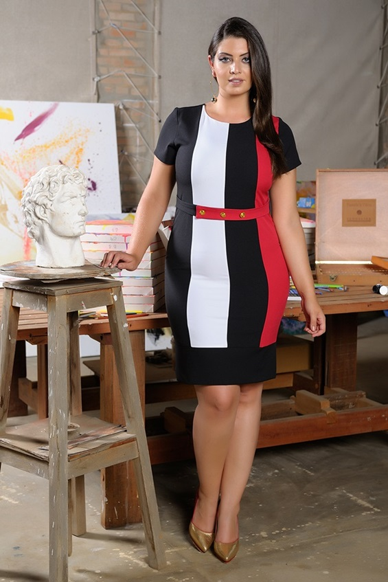 Vestido Cristina Cássia Segeti 1052