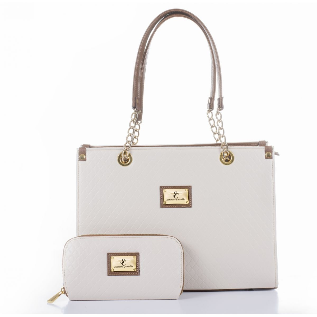 Bag Prunella Simmone Carvalho - SCb0008N
