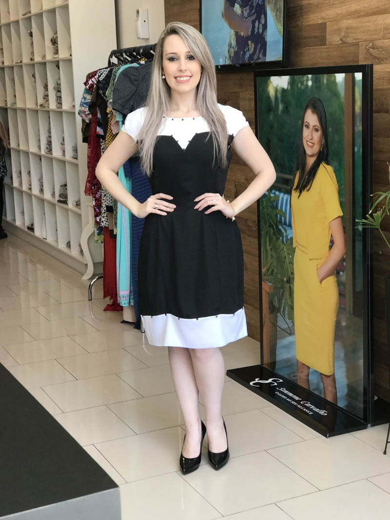 Vestido Regina Saia Bella SB770